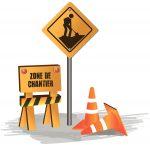 Chantiers routiers: adaptez votre conduite!
