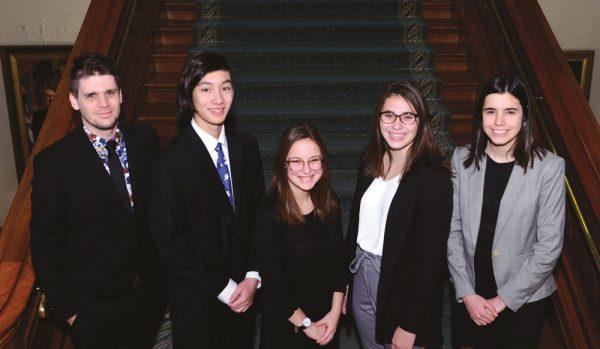 De retour du Parlement des jeunes