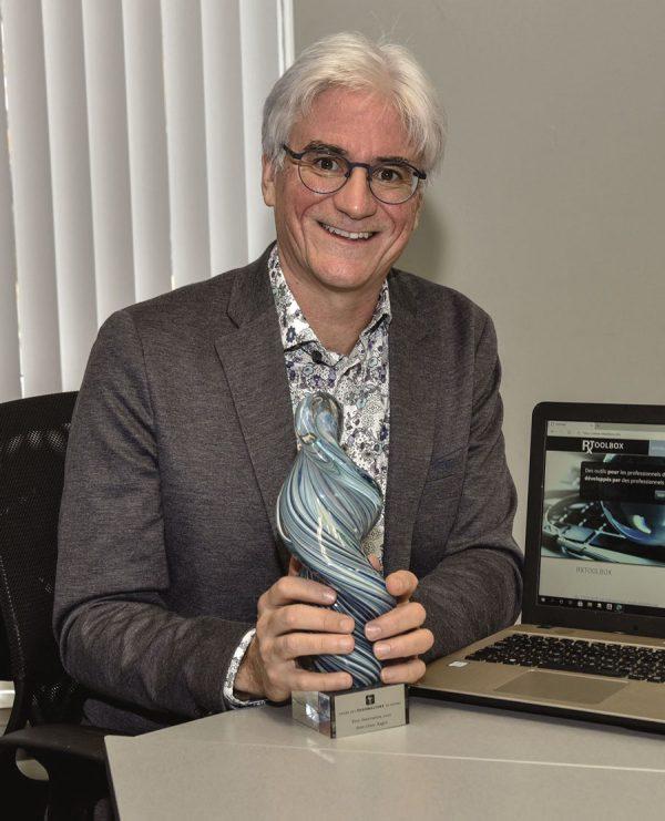 Jean-Louis Auger reçoit le Prix Innovation